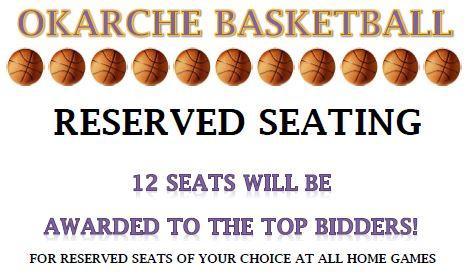reserved seating bid