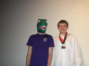 Dinosaur boy and Grant-3rd in fex.