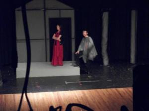 Michael as Jason confronts Medea.