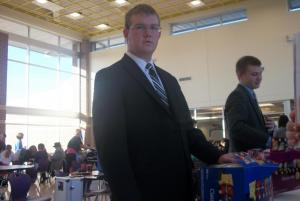 Sawyer:  3rd in foreign extemp.