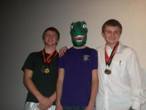 Dinosaur boy and the Crews Two-2nd in humorous duet