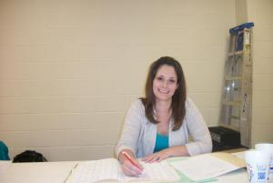 . . .and Lora Burch of Cordell for not only helping in the tab room but also running extemp.
