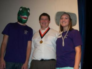 Dino boy, SO champ Nathan, and Natalie.