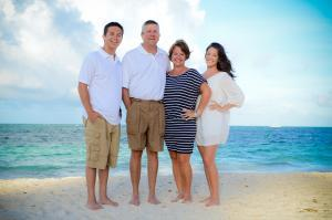 My family on vacation in the Dominican Republic!!!