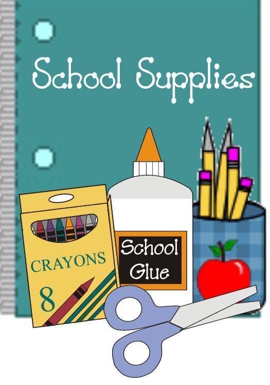Elementary School Supply List