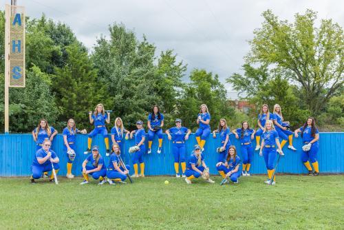 2020 AHS Softball Team