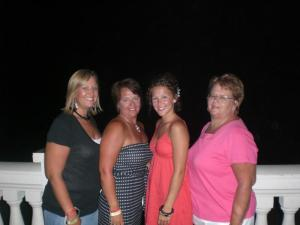 The girls on Vacation in Jamaica!!!