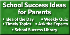 School Success Ideas for Parents