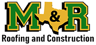 M&R Roofing Construction Co. Logo
