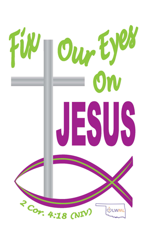 Fix Our Eyes on Jesus logo
