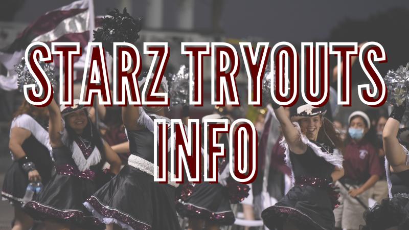 STARZ Tryout Info