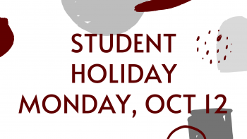 Student Holiday - Oct 12