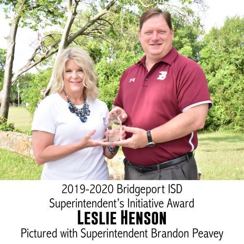 superintendent's initiative award