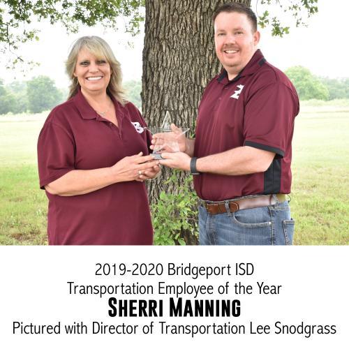 transportation staff of year