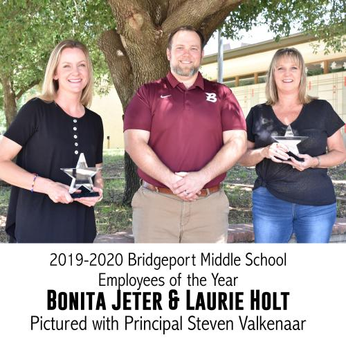 BMS Employees of the year