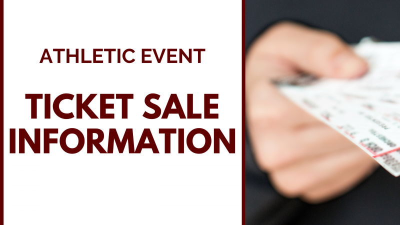 Home Football and Volleyball Ticket Sales are ONLINE!