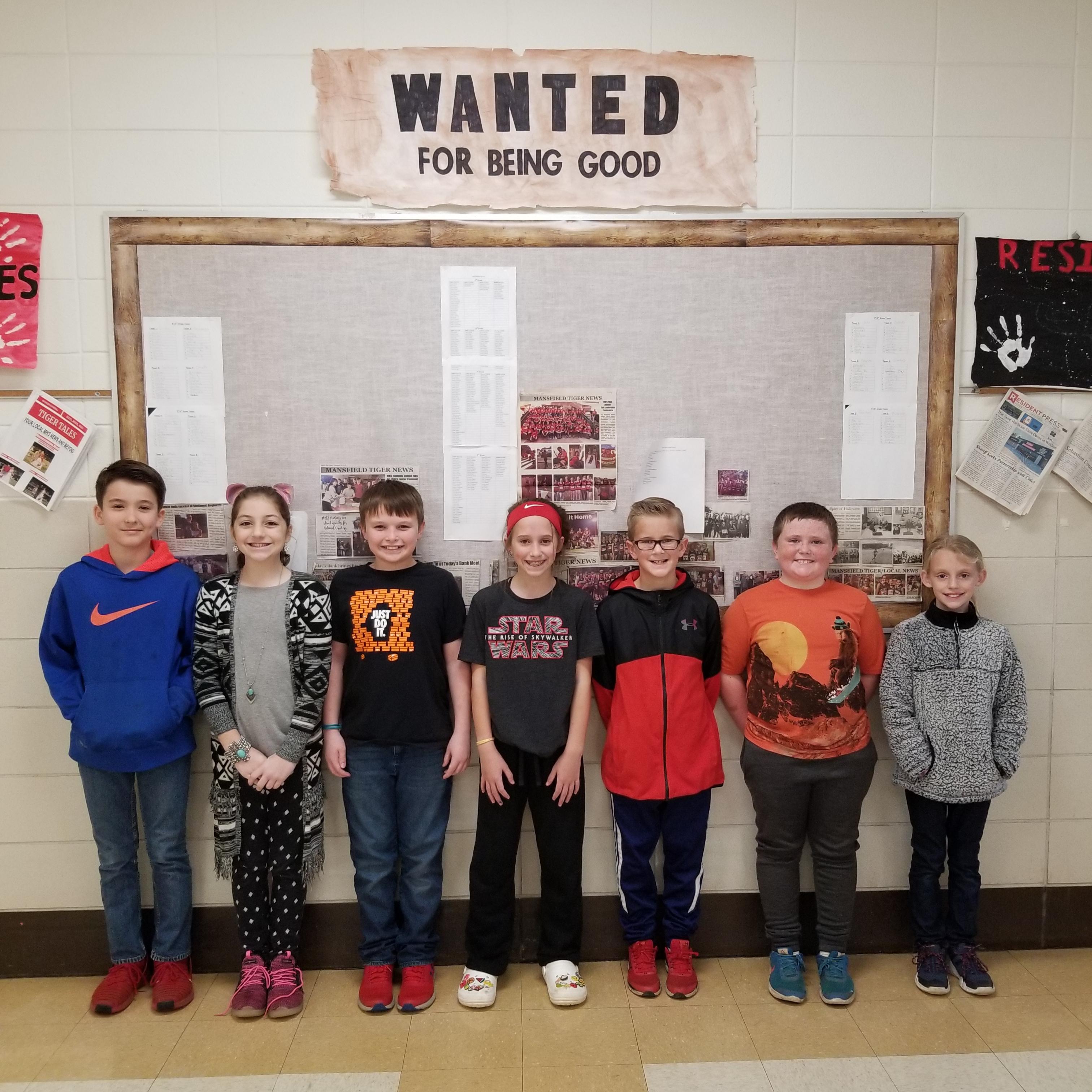 5th Grade Principal List