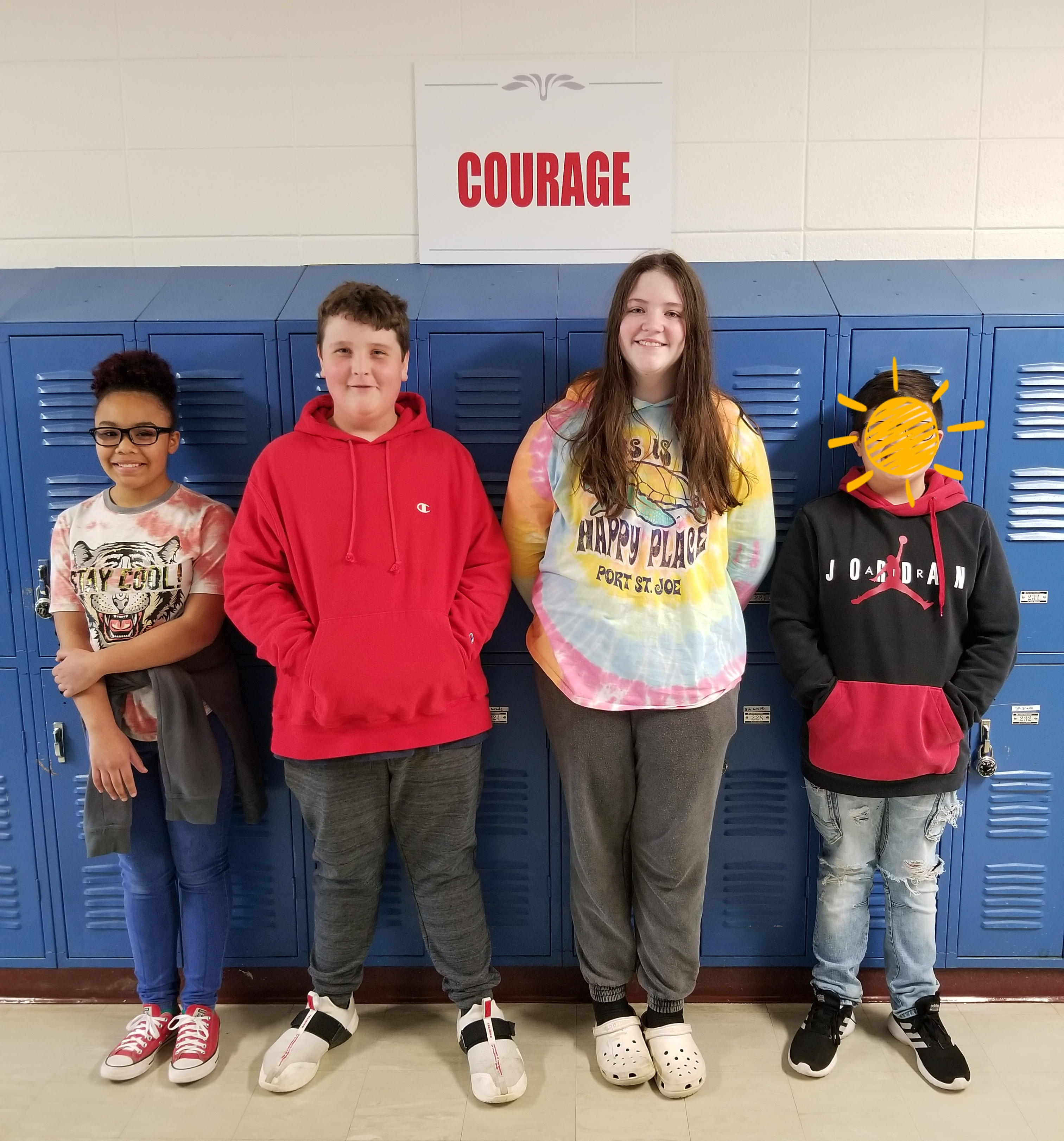 7th Grade Exceeding Students on ACT Aspire 3 Areas