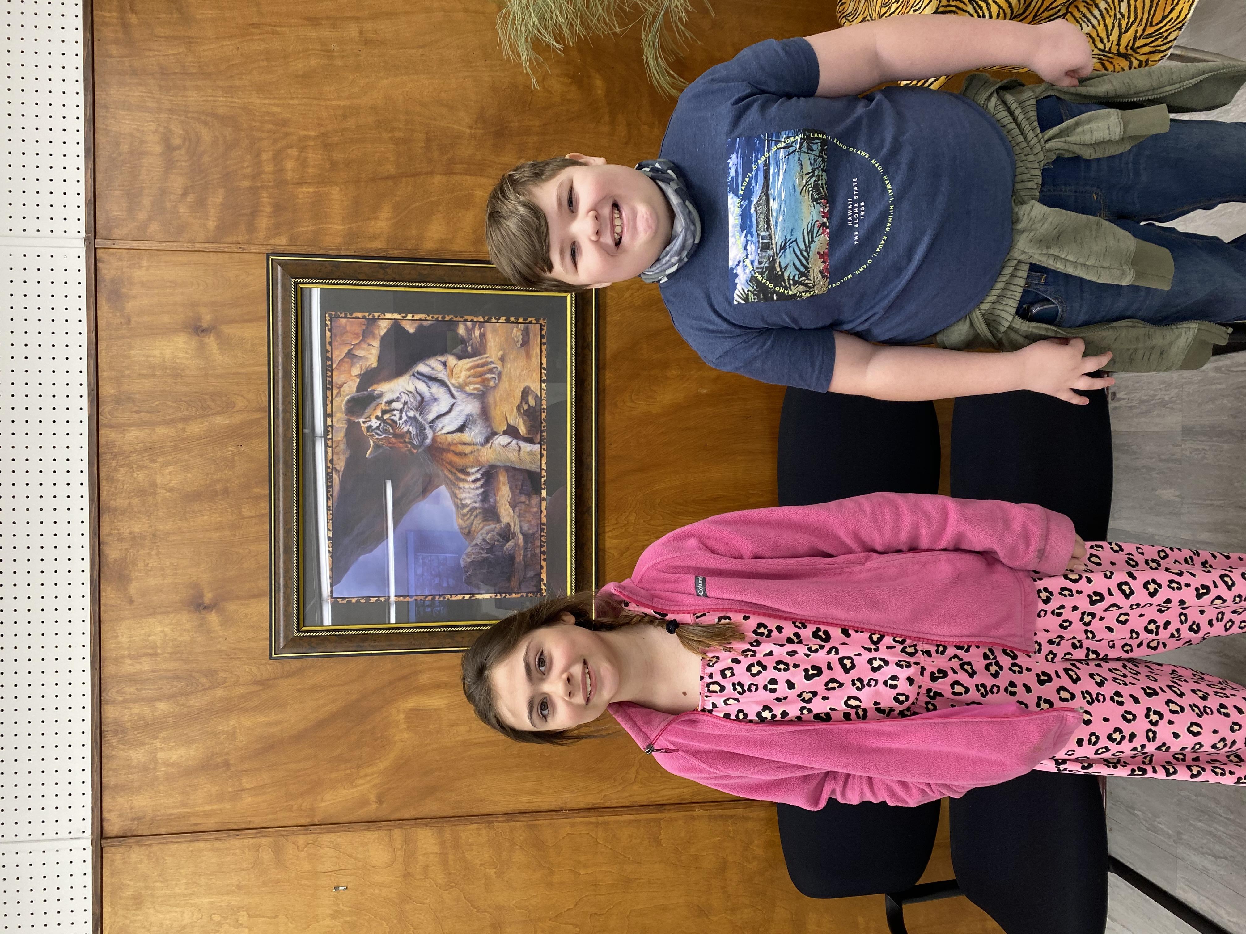 5th Grade March SOM Ryan Lebrun & Bella Graham