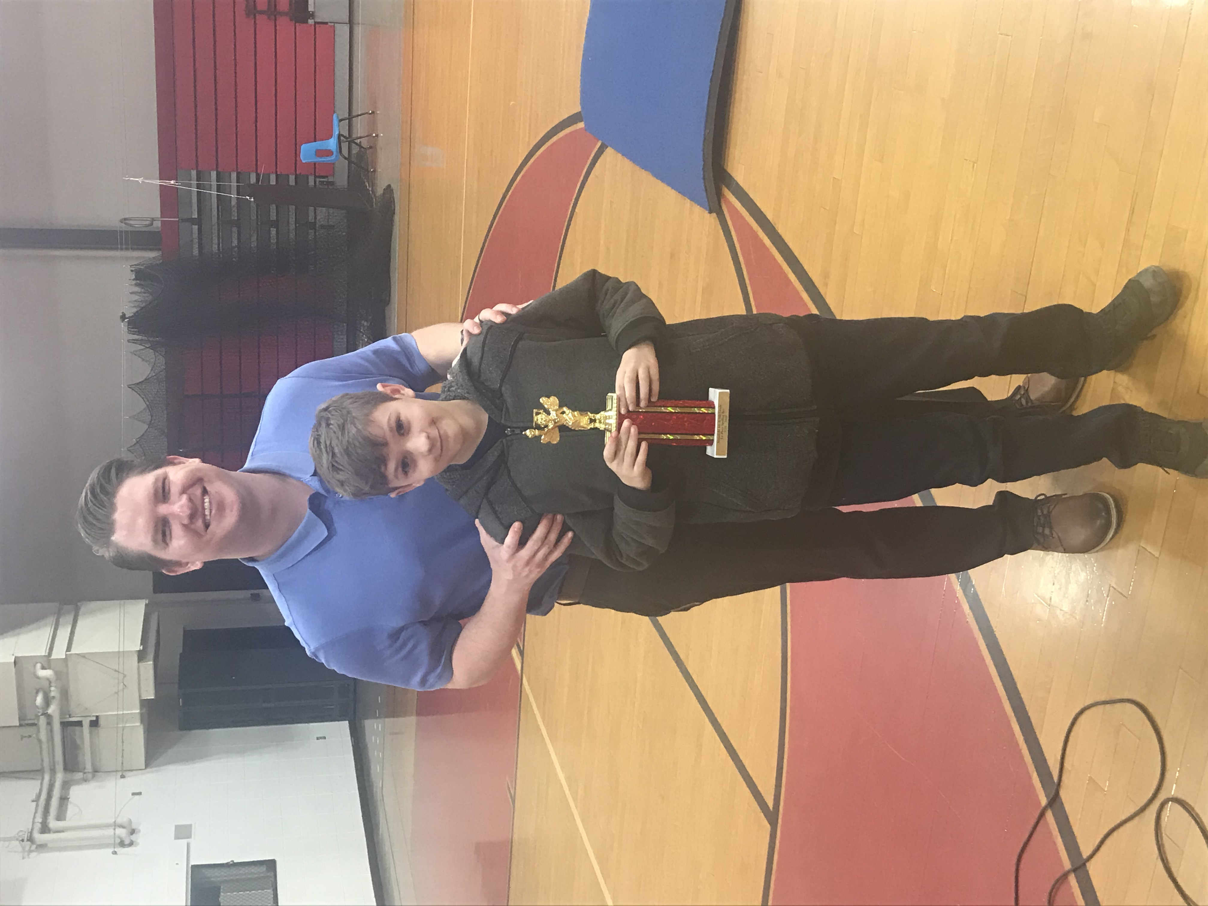 5/6 Spelling Bee 1st Place John Connor