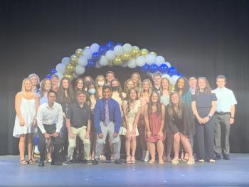 27 NLHS students inducted into National Honor Society