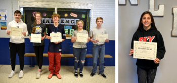 Star Students recognized at Stone Middle School