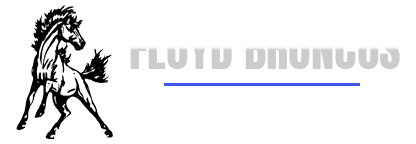 Floyd Broncos Excellence in Education Logo