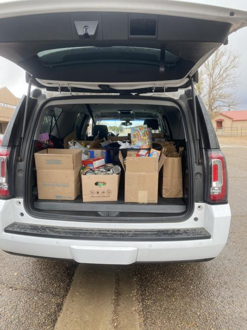 Logan Elementary raised over 500 items to donate to the Ministry of Hope