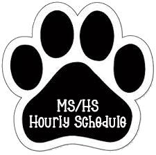mshs schedule