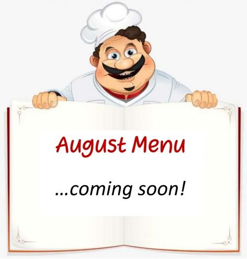 Menu Coming Soon