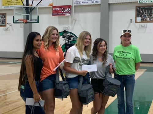 Texico Golfers Receive Tyler Fontenote Memorial Scholarship