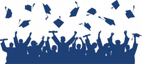 Cap throw for graduation