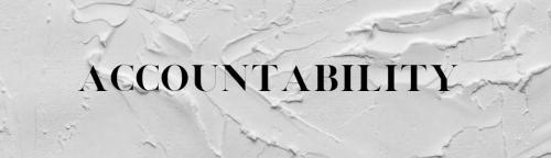 Accountability Banner