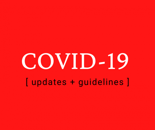 covid updates and guidelines