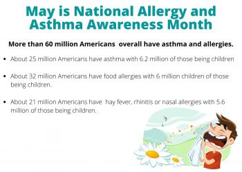 May is Allergy & Asthma Awareness Month