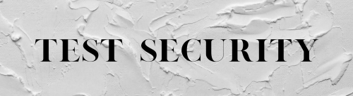 Test Security Banner
