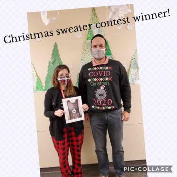 ECMS Ugly Sweater Art Contest