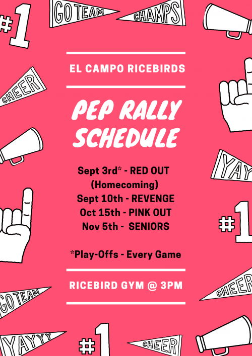 pap rally schedule
