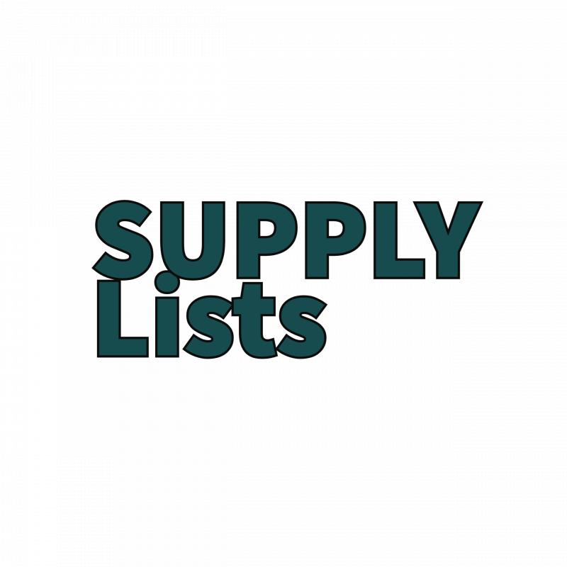 LMS Supply List