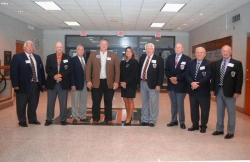 Hall of Fame Committee 2015 - Present Eddie Park, Junior Collins, Vice Chairman; Mike Hall, Secretary; Chris Wampler; Rosemary Quillen, Ron Tilley, Chairman; Paul Brewster; Gilbert Luttrell; Glenn Williams; not pictured - Nancy Beaty; Treasurer; and Rick Chadwick