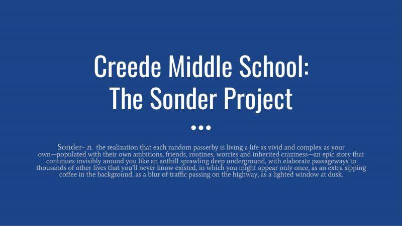 The Sonder Project