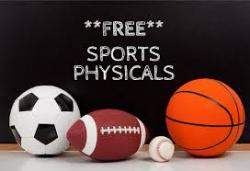 Last Call for Free Sports Physicals