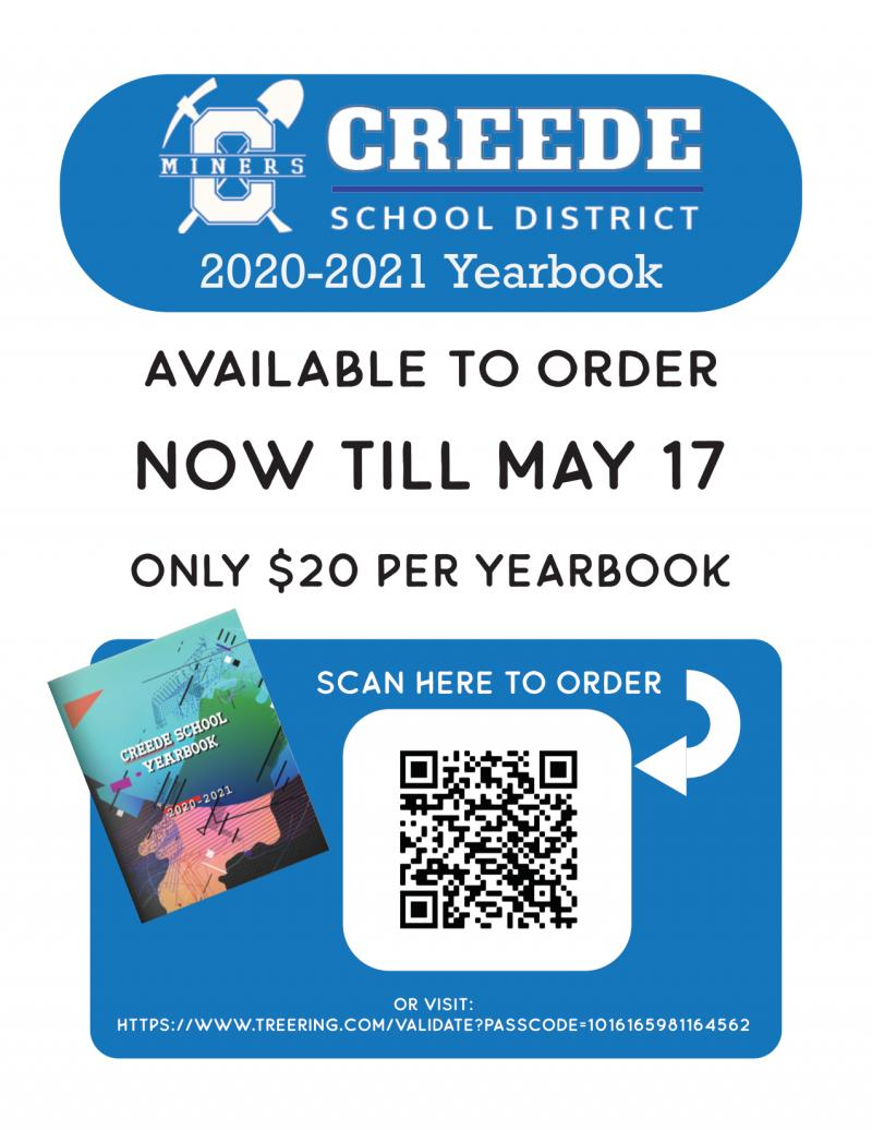 2021 Yearbook Order