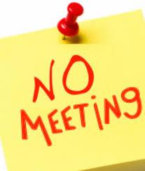 Pee Wee Basketball Meeting Cancelled