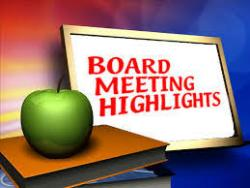 Highlights from the December Board Meeting