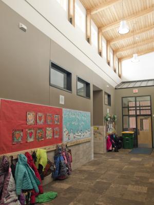 Elementary hall