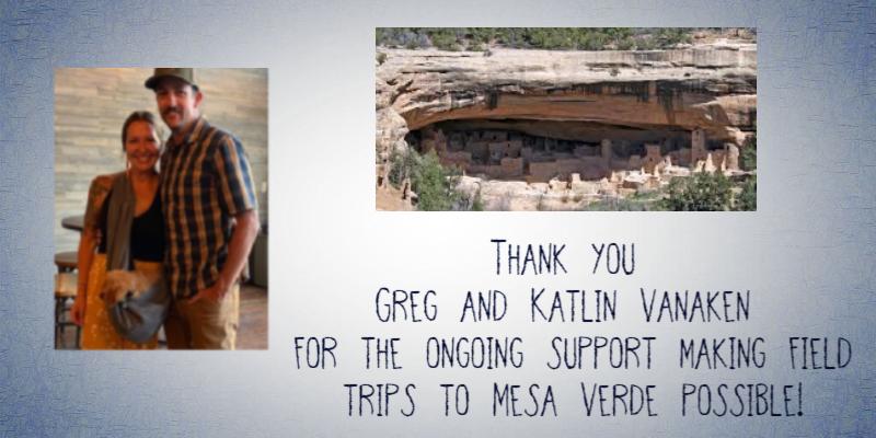 mesa verde field trip donations