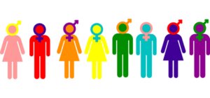 Gender Sexuality Acceptance Logo