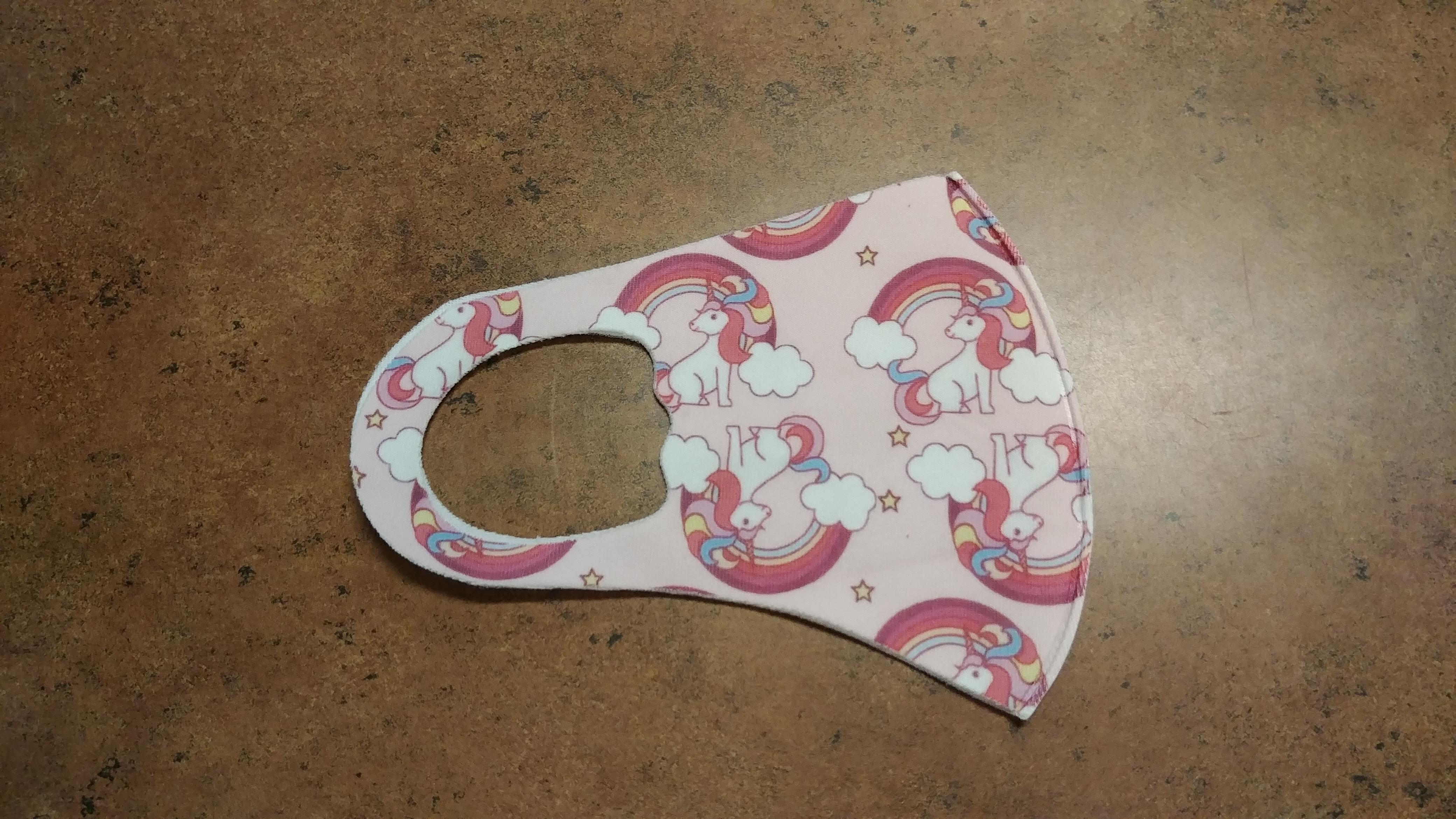 Item V - Unicorn mask (Fall 2020)