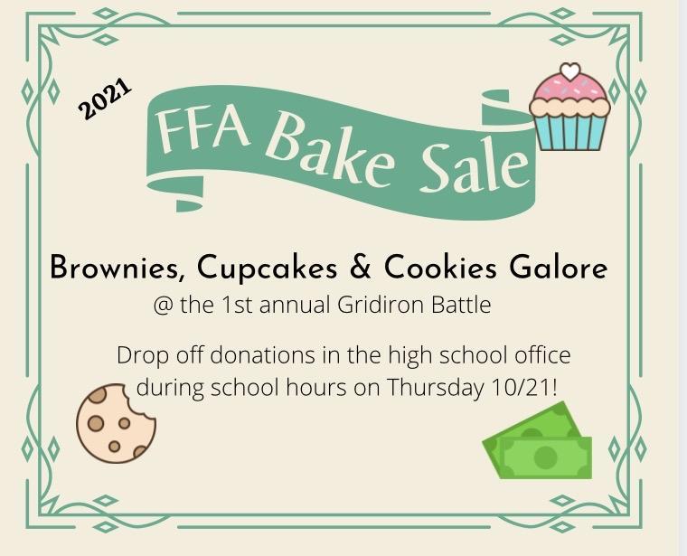 FFA Bake Sale